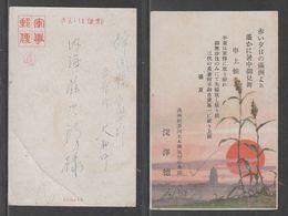 JAPAN WWII Military Sunset Picture Postcard MANCHUKUO CHINA WW2 MANCHURIA CHINE MANDCHOUKOUO JAPON GIAPPONE - 1932-45 Manchuria (Manchukuo)