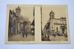 (KM6) Cote D'Azur 31 Toulon, La Cathédrale, Saint-François De Paule - Francia
