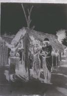 ANIMAUX ALLIGATOR CROCODILE  - CHASSE -  ANCIENNE PHOTO - AFRIQUE COLONIALE - TROUVE DANS UN ALBUM SENEGAL - Plaques De Verre