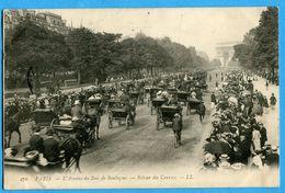 75  -  Paris - Paris L'Avenue Du Bois De Boulogne Retour Des Courses (N0955) - Andere