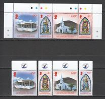 X179 ASCENSION ISLAND ART CHURCHES CHRISTMAS 2013 1KB+1SET MNH - Weihnachten