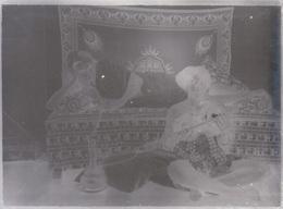 ANCIENNE PLAQUE DE VERRE  PHOTO - AFRIQUE COLONIALE - TROUVE DANS UN ALBUM SENEGAL OU MAURITANIE - Plaques De Verre