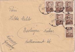 POLOGNE 1949 LETTRE DE BIELSKO - 1944-.... Republic