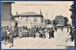 CPA 69 LA MULATIERE - La Verrerie, Sortie Des Ouvriers. - Andere Gemeenten