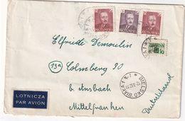 POLOGNE 1952 PLI AERIEN DE BIELSKO - 1944-.... Republic