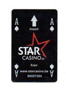 BELGIO  KEY CASINO    Star Casino EXPO -     Zaventem - Cartes De Casino