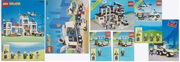 Lot 6 Catalogues Lego  Police - Catalogs