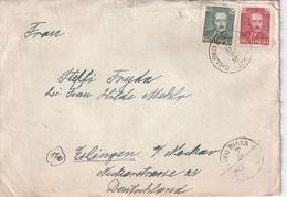 POLOGNE 1952 LETTRE DE BIELSKO - 1944-.... Republic