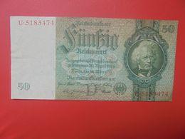 Reichsbanknote 50 Reichsmark 1933 TYPE 1 CIRCULER (B.17) - [ 4] 1933-1945 : Third Reich