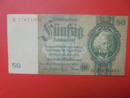 Reichsbanknote 50 Reichsmark 1933 TYPE 2 CIRCULER (B.17) - [ 4] 1933-1945: Derde Rijk