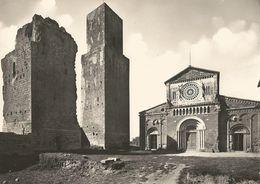 1491 - TUSCANIA - Basilica Di S. Pietro (sec. VIII) Mon. Naz. Torri Campanarie. - Viterbo
