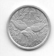 *new Caledonia 1 Francs 1973  Km 10  Bu/ms65 - New Caledonia