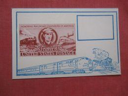Railroad Engineers Of America  April 29  1950 >   Ref 4207 - Chemins De Fer