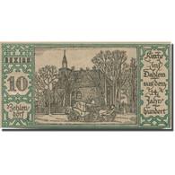 Billet, Allemagne, Berlin, 50 Pfennig, Eglise, 1921, 1921-09-09, SPL, Mehl:92.1 - Duitsland