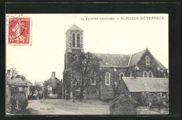CPA Saint-Julien-du-Terroux, L'Eglise - France