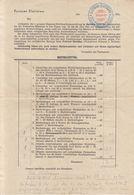 Bestellzettel Order Slip 1941 Post Offfice Slatinian Slatiňany B200701 - Lettres & Documents