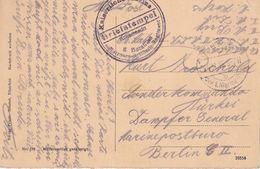 ALLEMAGNE 1916 OCCUPATION BELGIQUE CARTE EN FELDPOST - Occupation 1914-18