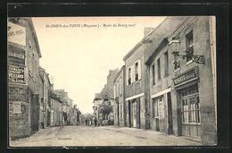 CPA Saint-Ouen-des-Toits, Route Du Bourg Neuf - France