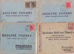 YOUGOSLAVIE JUGOSLAVIJA -  Beau Lot De 256 Enveloppes Timbrées Timbre Avant 1950 Air Mail Covers Batch Of Letters Stamps - 1931-1941 Royaume De Yougoslavie