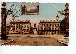 Carte Maximum Avec N°778  Nancy Oblitérée 11/2/47  Cote Yvert : A4  25E - Cartas Máxima