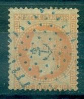 FRANCE N° 31 Oblitéré ANCRE BLEUE TB - 1849-1876: Periodo Clásico