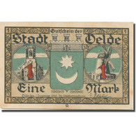 Billet, Allemagne, Oelde, 1 Mark, Moulin, 1920, 1920-12-07, SPL, Mehl:1007.1 - Duitsland