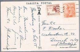 España, 1955, Barcelona-Zurich - 1931-Oggi: 2. Rep. - ... Juan Carlos I