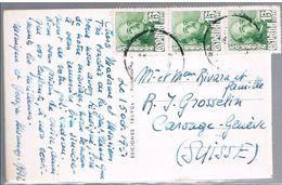 España, 1951, Para Geneve - 1931-Oggi: 2. Rep. - ... Juan Carlos I