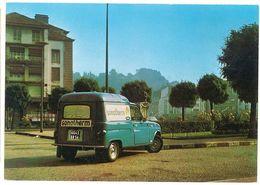 Cpsm ( Carte Réponse ) Pub Sonatherm , Nancy , Renault 4 L Fourgonnette  ( PUB ) - Publicité