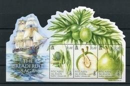 """Pitcairn - Block Nr. 69 - """"Brotfruchtbaum"""" ** / MNH (aus Dem Jahr 2015) - Stamps"""