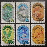 Grenada  Grenade  Lot De 6 Timbres Oblitérés Jeux Olympiques 1976 Montréal Canada Cyclisme Aviron Judo Hockey Sur Gazon - Antillen