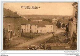 SAINT - LEGER ..-- Panorama . 1911 Vers MONS ( Capitaine MARLIER , 2ème Chasseurs à Pied ) . Voir Verso . - Saint-Léger