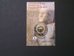 GEECE 2020 2 EURO 2500 YEARS SINCE THE BATLE OF THERMOPYLE BLISTER.. - Grèce