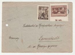 Poland Letter Cover Posted 1949 Katowice Pmk B200701 - 1944-.... Republic