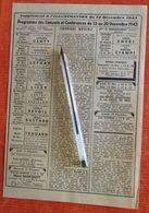 Programmes Des Concerts Et Conf (Petits Chanteurs à La Croix De Bois) - Suppl. à L'Illustration Du 12 Décembre 1942 - Zeitungen