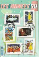 FRANCE 2014 BLOC OBLITERE LES ANNEES 50 -  F4875 -  F 4875 - Sheetlets