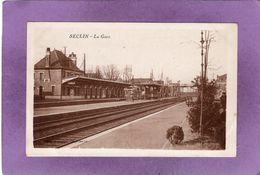 59  SECLIN  La Gare  Ed Combier - Seclin