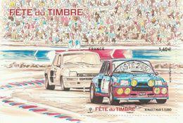 FRANCE 2018 BLOC OBLITERE FETE DU TIMBRE RENAULT MAXI 5 TURBO - F 5205                                  TDA152B - Sheetlets