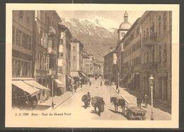 Carte P ( Sion / Rue Du Grand Pont ) - VS Valais