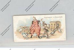 CIRCUS / ZIRCUS, Stollwerck - Sammelbild, Clown, Gänse Und Ziegenkarren - Zirkus