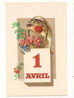 Fêtes Voeux 1er Avril Poisson D'avril - Erster April