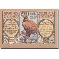 Billet, Autriche, Innsbruck, 75 Heller, Aigle 1920-06-15, SPL Mehl:FS 412Ia - Austria