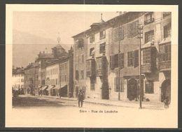 Carte P ( Sion / Rue De Louêche ) - VS Valais