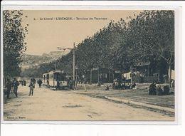 L'ESTAQUE : Terminus Des Tramways - Très Bon état - Otros Municipios