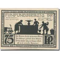 Billet, Allemagne, Paderborn, 75 Pfennig, Eglise, 1921 SPL Mehl:1043.4 - Duitsland