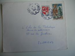 Beauvais A Creil Cachet Ambulant Convoyeur Poste Ferroviaire - Postmark Collection (Covers)