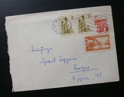 Yugoslavia Cover Sent From Ruma To Belgrade Serbia B5 - Lettres & Documents
