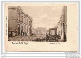 SAINT - LEGER ..-- L'Hôtel De Ville . Voir Travail Du Maréchal - Ferrant . - Saint-Léger