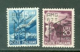 Trieste Zone A   Sassone  81/82  * *  TB - Trieste