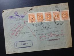 Yugoslavia 1947 Cover Sent From Nis To Belgrade Serbia B11 - Lettres & Documents